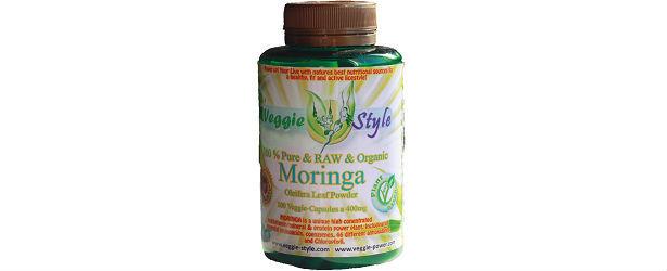 Veggie Style Protein Moringa Oleifera Powder Capsules Review615